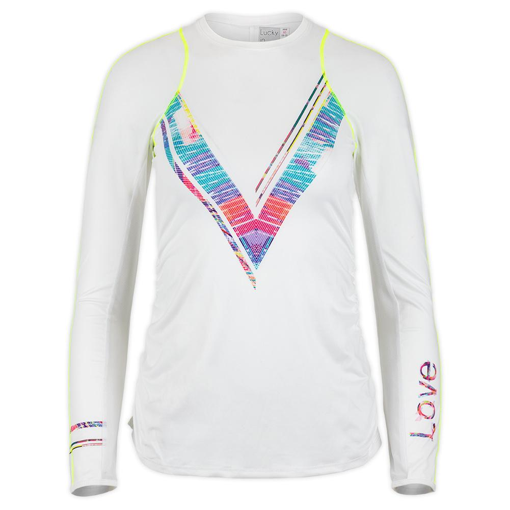 Women's Love Line Long Sleeve Tennis Top