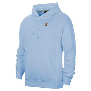 Men`s Court Heritage Fleece Tennis Hoodie Topaz Mist