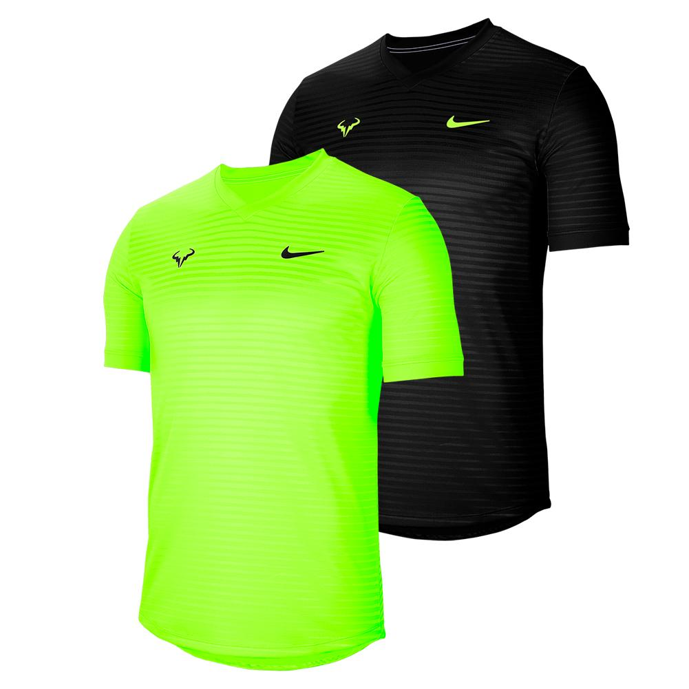 Men's Rafa Court Challenger Short Sleeve Tennis Top