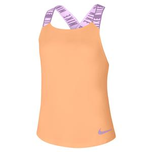 Girls` Dri-FIT Training Tank Orange Chalk and Violet Star