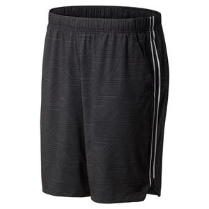 Men`s Rally 9 Inch Tennis Short Print
