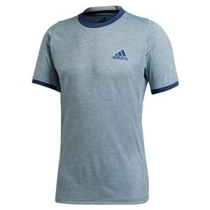 Men`s Freelift Tennis Top Tech Indigo and Sky Tint