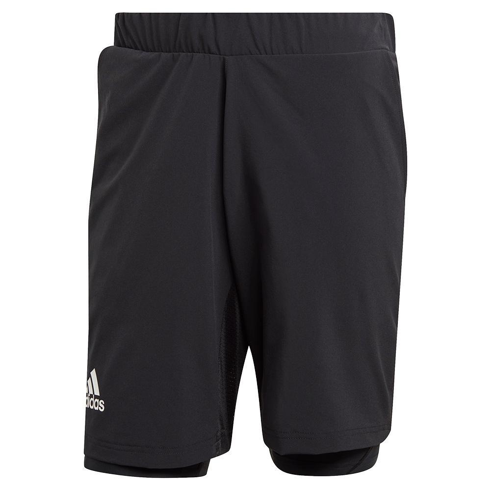 Men's Heat.Rdy 2in1 9 Inch Tennis Short Black