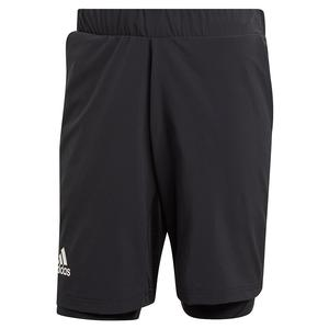 Men`s HEAT.RDY 2in1 9 Inch Tennis Short Black
