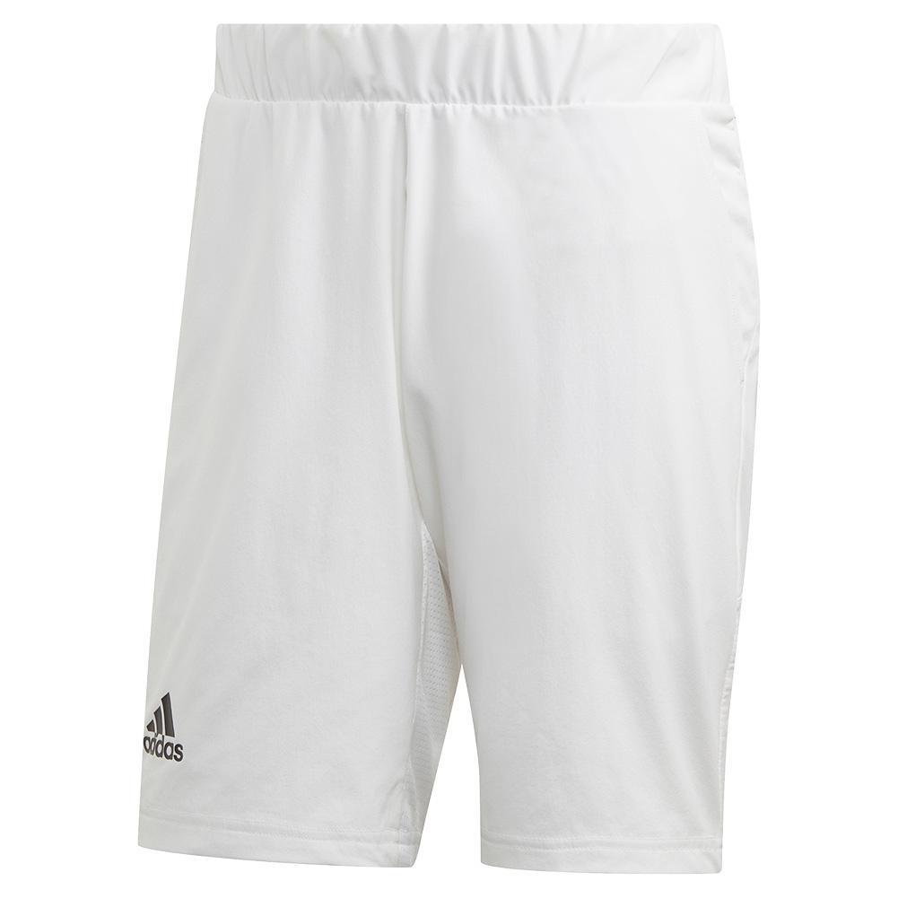 Men's Heat.Rdy 2in1 9 Inch Tennis Short White