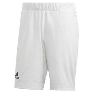 Men`s HEAT.RDY 2in1 9 Inch Tennis Short White