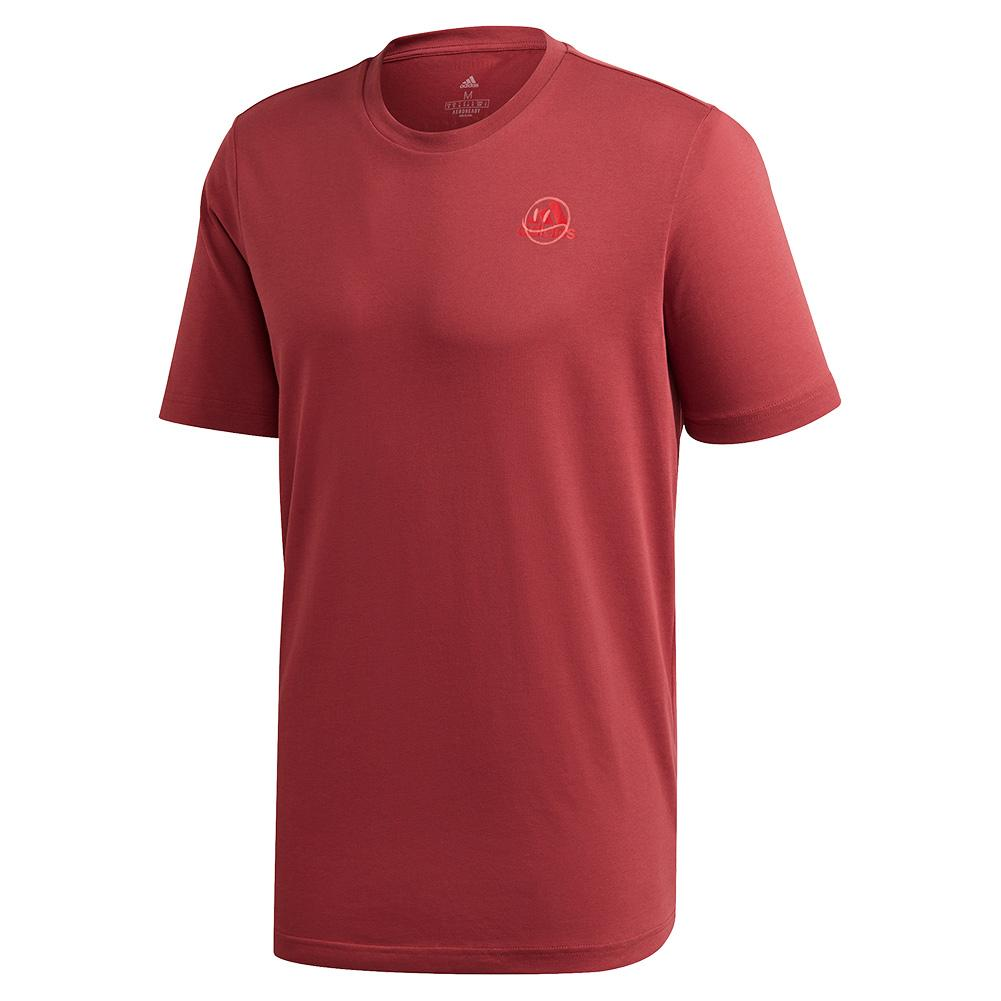 Men's Ftb Short Sleeve Tennis Tee Legacy Red