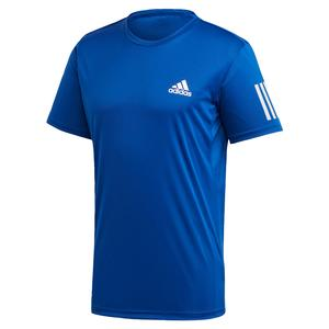 Men`s Club 3 Stripes Tennis Top Team Royal Blue