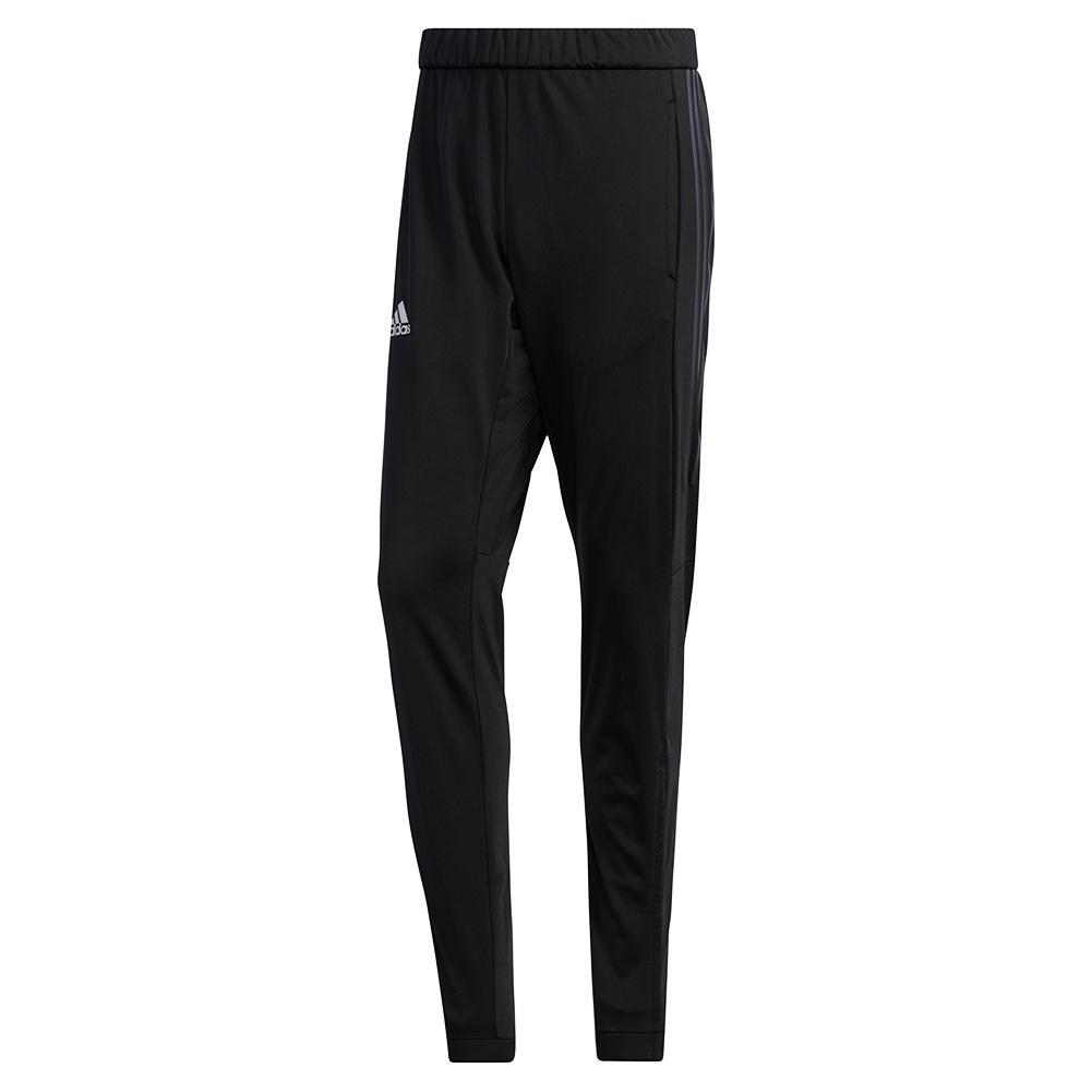 Men's 3 Stripes Knit Tennis Pant Black