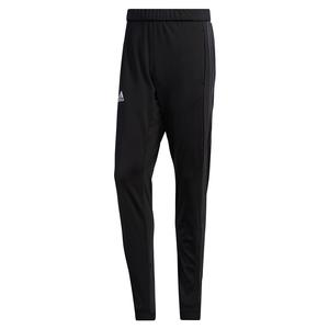 Men`s 3 Stripes Knit Tennis Pant Black