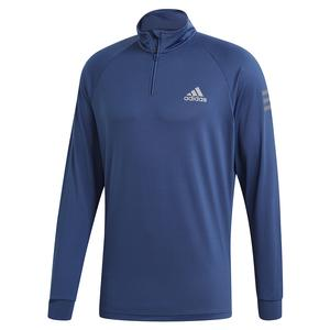Men`s Club Midlayer Tennis Top Tech Indigo