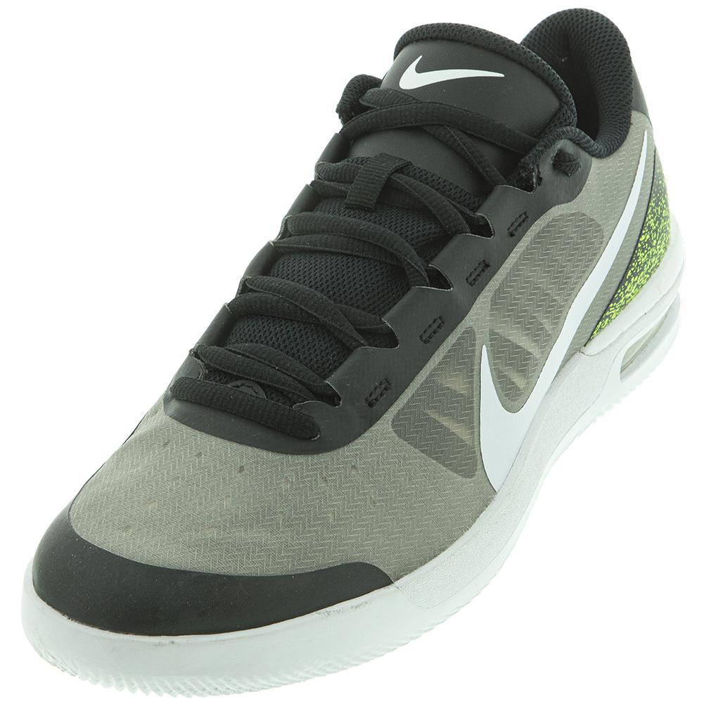Men's Court Air Max Vapor Wing Ms Tennis Shoes Black And White