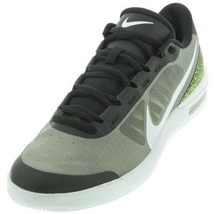 Men`s Court Air Max Vapor Wing MS Tennis Shoes Black and White