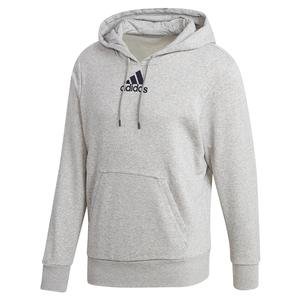 Men`s Category Graphic Tennis Hoodie Medium Grey Heather and Legend Ink