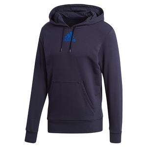 Men`s Category Graphic Tennis Hoodie Legend Ink and Team Royal Blue