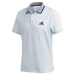Men`s Freelift Tennis Polo Sky Tint and Tech Indigo