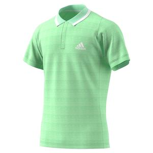 Men`s Freelift Tennis Polo Glory Mint and White
