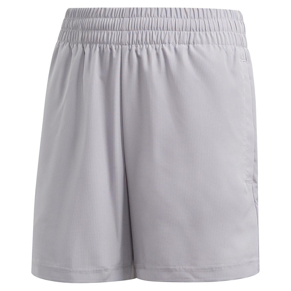 Boys ` Club 5 Inch Tennis Short Glory Grey