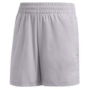 Boys` Club 5 Inch Tennis Short Glory Grey