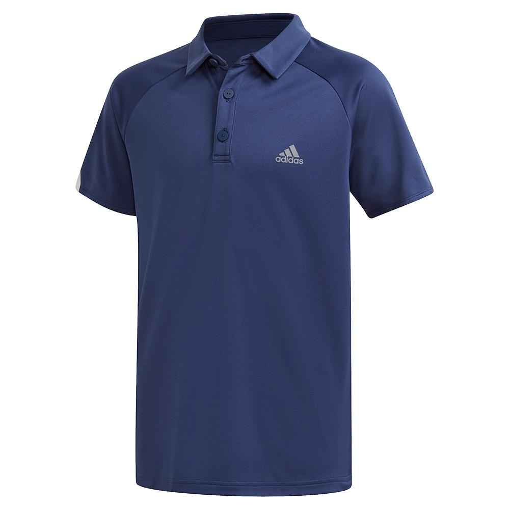 Boys ` Club Tennis Polo Tech Indigo
