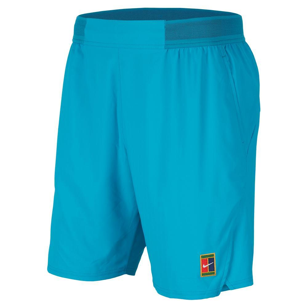 Men's London Team Court Flex Ace 9 Inch Tennis Short