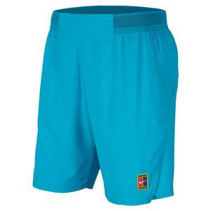 Men`s London Team Court Flex Ace 9 Inch Tennis Short