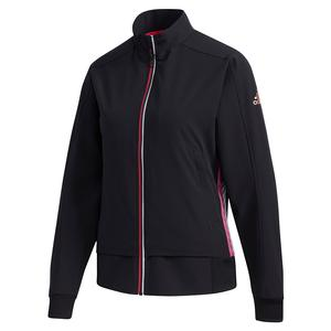 Women`s Woven Tennis Jacket Black
