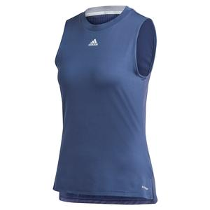 Women`s Match Tennis Tank Tech Indigo and Sky Tint