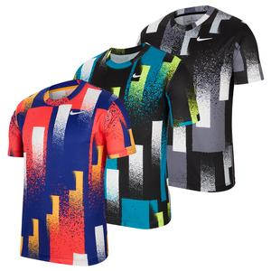 Men`s Court Dry Printed Tennis Top
