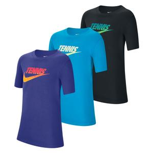 Juniors` Court Graphic Tennis Tee