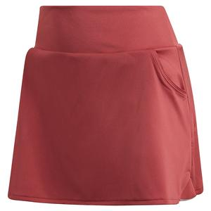 Women`s Club 13 Inch Tennis Skort Legacy Red