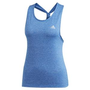 Women`s Club Tie Tennis Tank Team Royal Blue and White
