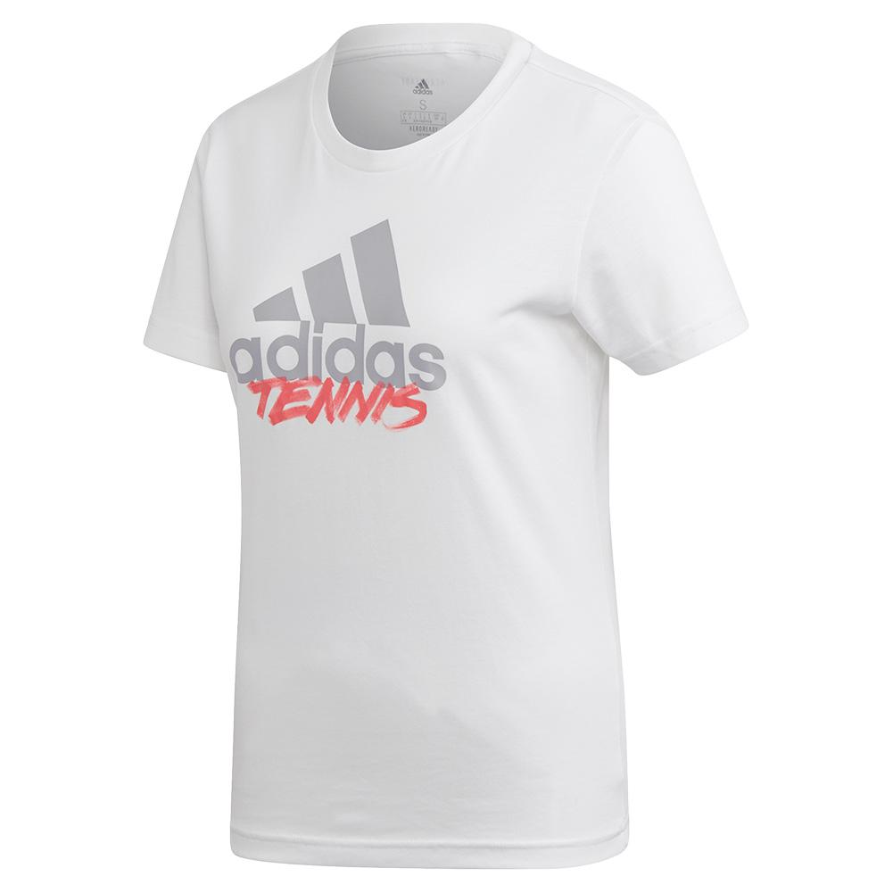 Women's Adi Tennis Tee White