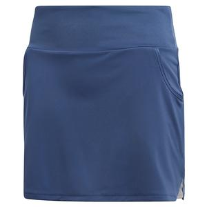 Girls` Club Tennis Skort Tech Indigo
