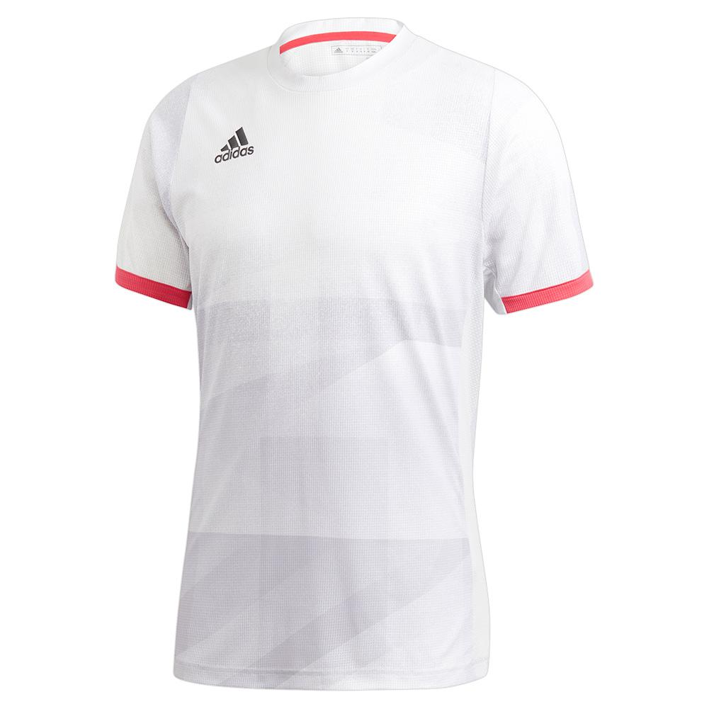 Men's Heat.Rdy Freelift Olympic Tennis Top White