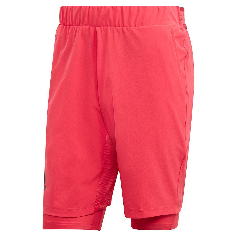 Men's Heat.Rdy 2in1 9 Inch Tennis Short Power Pink