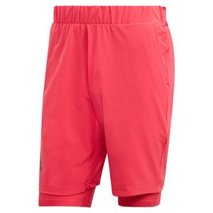 Men`s HEAT.RDY 2in1 9 Inch Tennis Short Power Pink