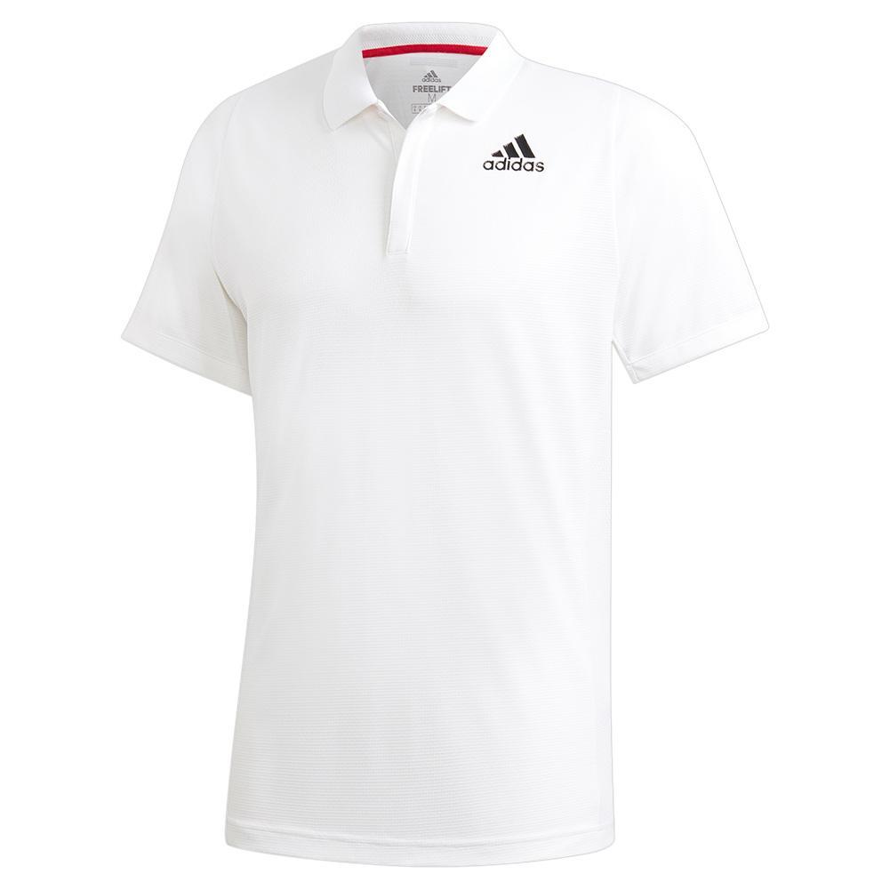 Men's Heat.Rdy Freelift Tennis Polo White