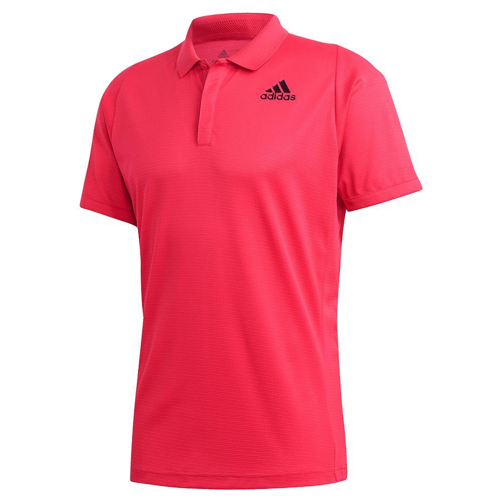Men's Heat.Rdy Freelift Tennis Polo Power Pink