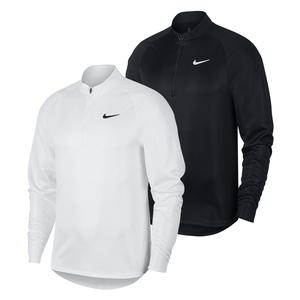 Men`s Court Challenger Long Sleeve Half Zip Tennis Top