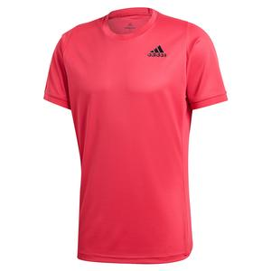 Men`s HEAT.RDY Freelift Solid Tennis Top Power Pink