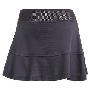 Women`s HEAT.RDY Olympic Match 13 Inch Tennis Skort Black