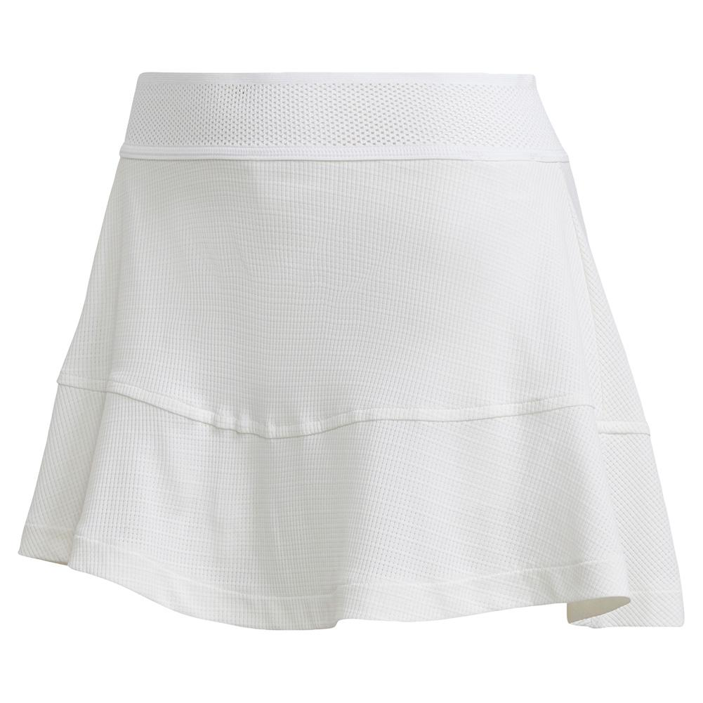 Women's Heat.Rdy Olympic Match 13 Inch Tennis Skort White