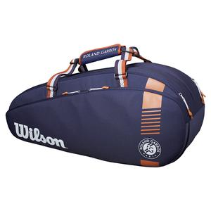 Roland Garros Team 6 Pack Tennis Bag Navy and Clay