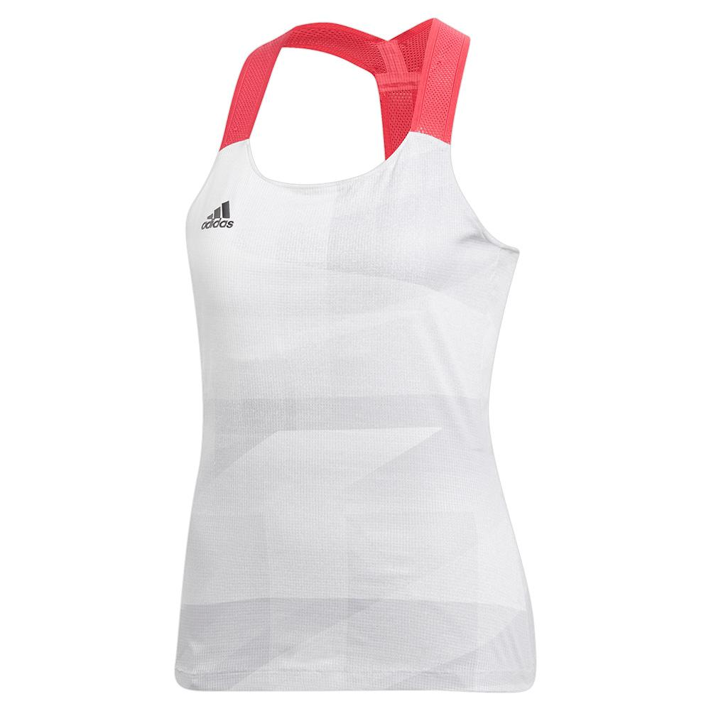 Women's Heat.Rdy Olympic Y- Back Tennis Tank White