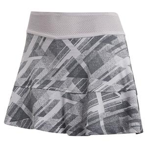 Women`s HEAT.RDY Match 13 Inch Tennis Skort Glory Grey