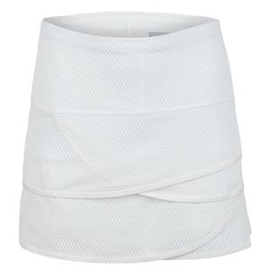 Women`s Long Wavy Scallop Tennis Skort