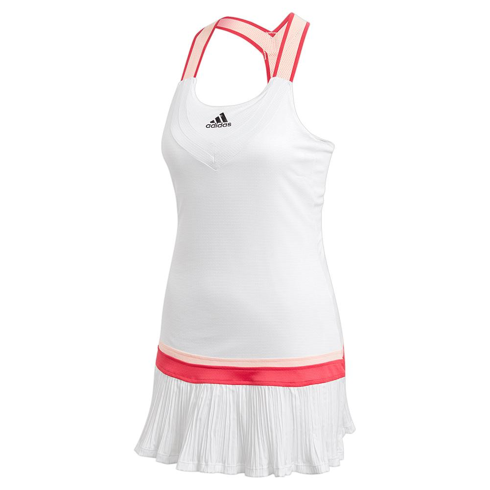 Women's Heat.Rdy Y- Back Tennis Dress White