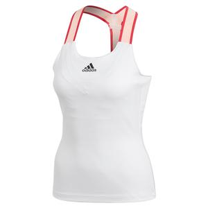 Women`s HEAT.RDY Y-Back Tennis Tank White