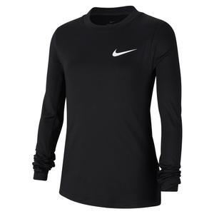Girls` Pro Warm Long Sleeve Training Top